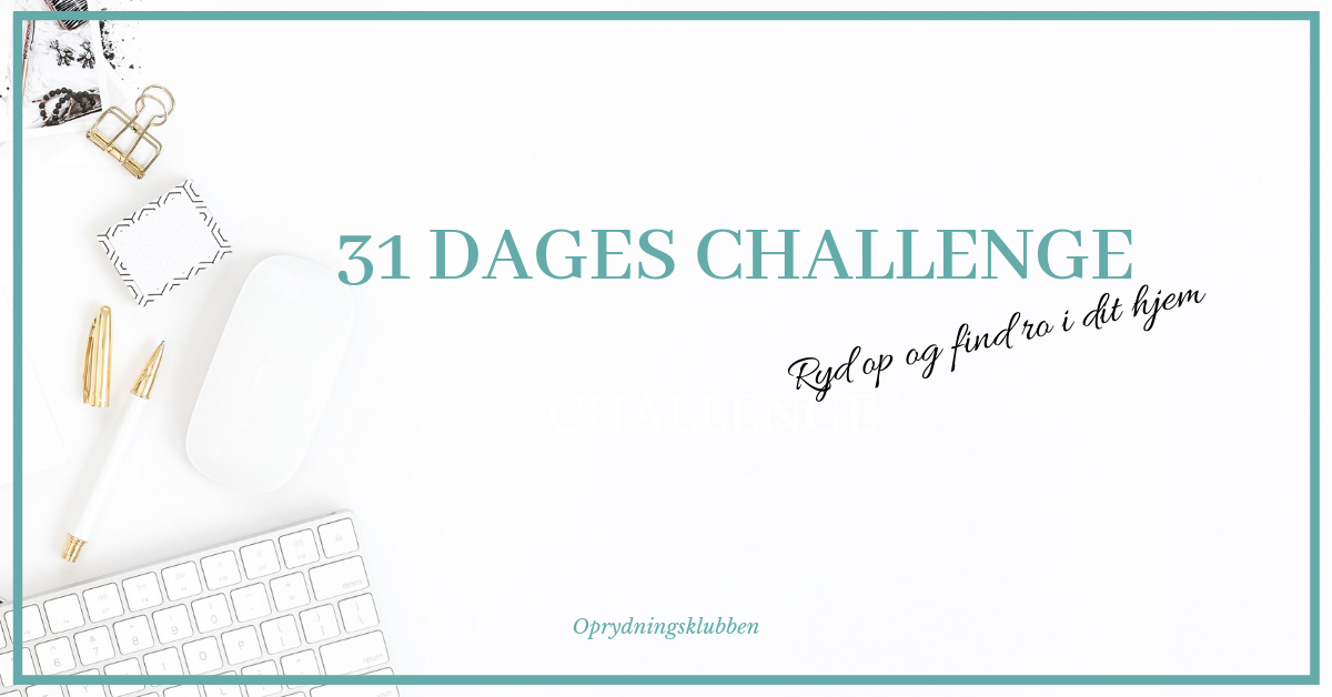 31 dages oprydnings challenge 2019